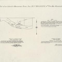 [Public Land Survey System map: Wisconsin Township 36 North, Range 22 East]