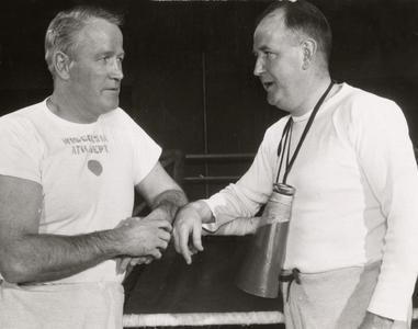 John Walsh and Coach Woodward