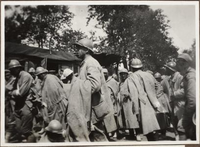 Gefangene Franzosen b. Verdun
