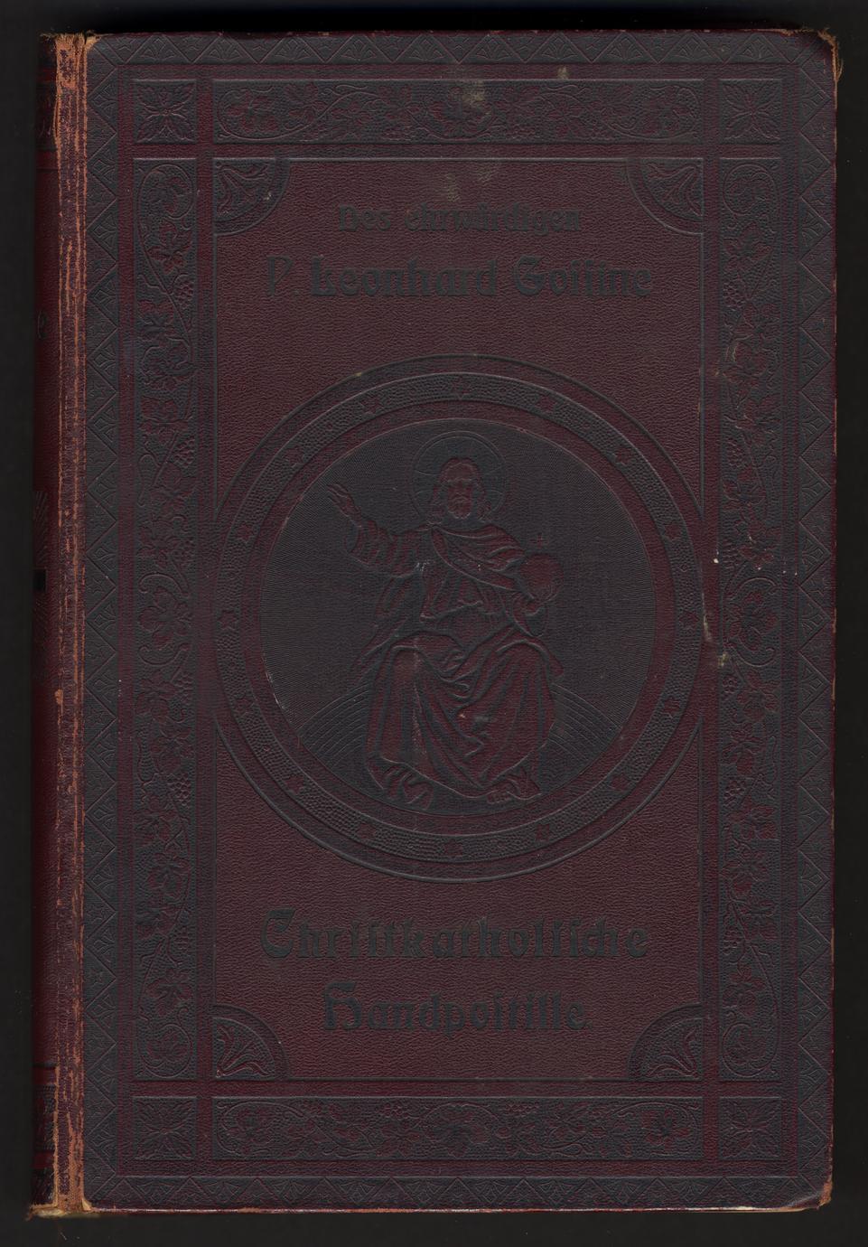 Christkatholische Handpostille; oder Unterrichts und Erbauungsbuch (1 of 2)