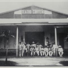 HQ of insurgent officers, Cavite, 1898