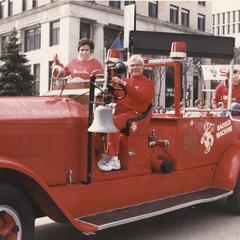 Chancellor Donna Edna Shalala and Arlie Mucks, Jr.