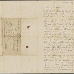 [Letter from Ludwig Sternberger to his mother, Johanna Sternberger, July 5, 1848]