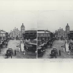 A view of Binondo Church looking across Binondo Bridge, Manila, 1901