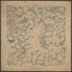 Geological map of the Randville-Sagola area, Iron and Dickinson Counties, Michigan
