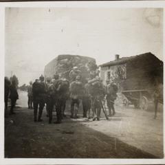 Abmarsch von Steney Aug. 1917