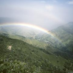 Rainbow over Río Guacimal