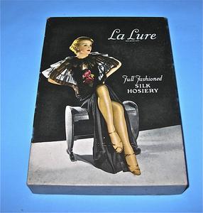 La Lure silk hosiery box