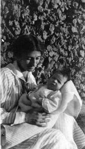 Estella with infant Nina