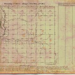 [Public Land Survey System map: Wisconsin Township 12 North, Range 02 West]