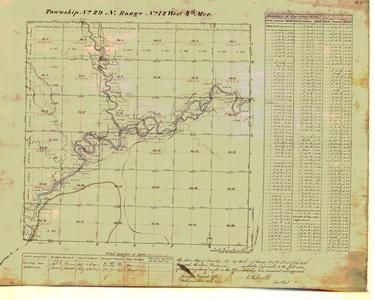 [Public Land Survey System map: Wisconsin Township 29 North, Range 12 West]