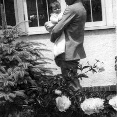 Aldo Leopold and daughter Estella