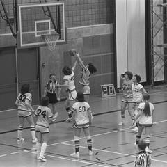 Women's basketball game at Phoenix Sports Center