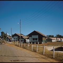 Road around United States Operations Mission (USOM) compound