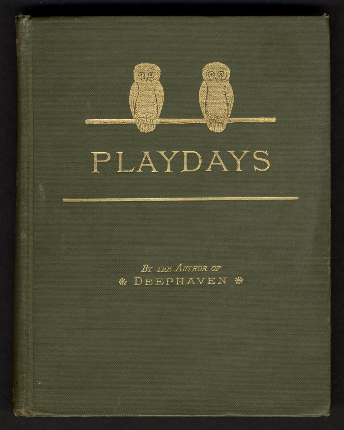 Play days : a book of stories for children (1 of 2)