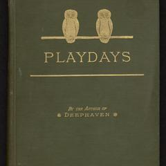 Play days : a book of stories for children