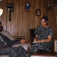 Oba Oladele Olashore and Lillian Trager