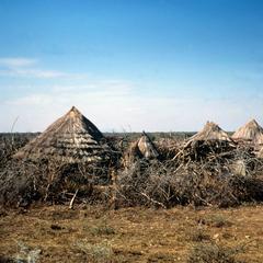 Temporary Housing of Karamojang