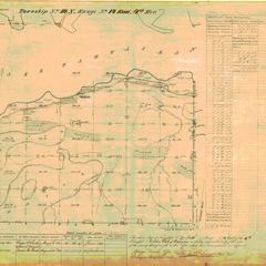 [Public Land Survey System map: Wisconsin Township 19 North, Range 14 East]