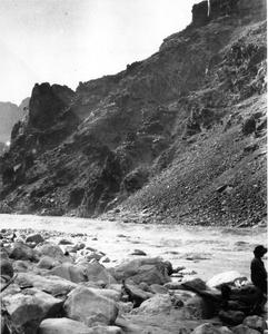 Leopold's photo of the Grand Canyon