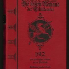 1812; Ein historischer Roman
