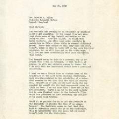 Aldo Leopold papers : 9/25/10-1 : Correspondence