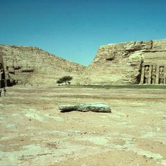 Temple of Ramses II at Abu Simbel
