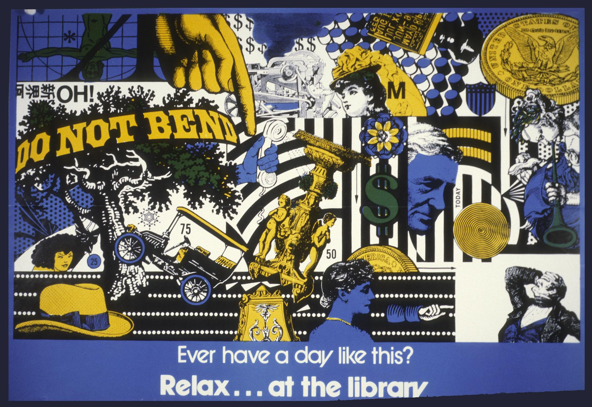 Ever had a day like this : relax...at the library
