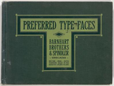 Preferred type faces
