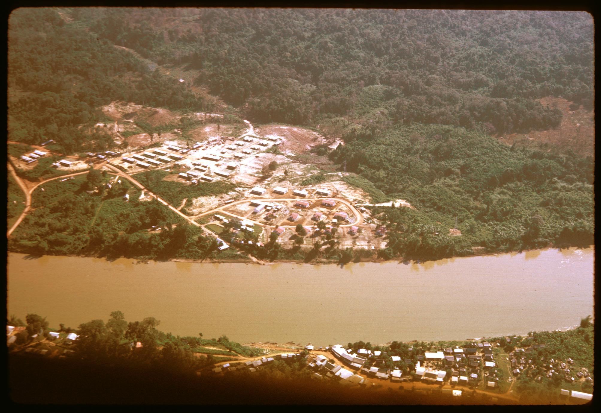 Settlement near dam area--workers' housing