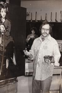 UW Center Barron County art faculty Don Ruedy