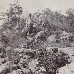 Ulrich and Hotchkiss at Rattlesnake Bluff