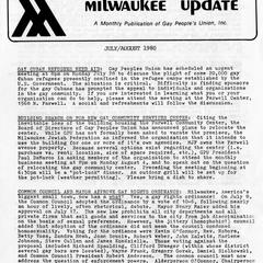 Milwaukee Update : July/August 1980