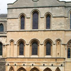 Rochester Cathedral exterior southeast transept