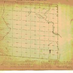 [Public Land Survey System map: Wisconsin Township 24 North, Range 09 East]