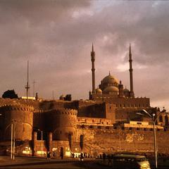 View of Walls of the Citadel (1176 A.D.) and Muhammad Ali Mosque (1830-57 A.D.)