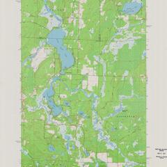 Post Lake quadrangle
