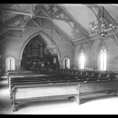 Congregational Church interior - February