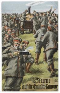 Sturm auf die Gulasch-Kanone