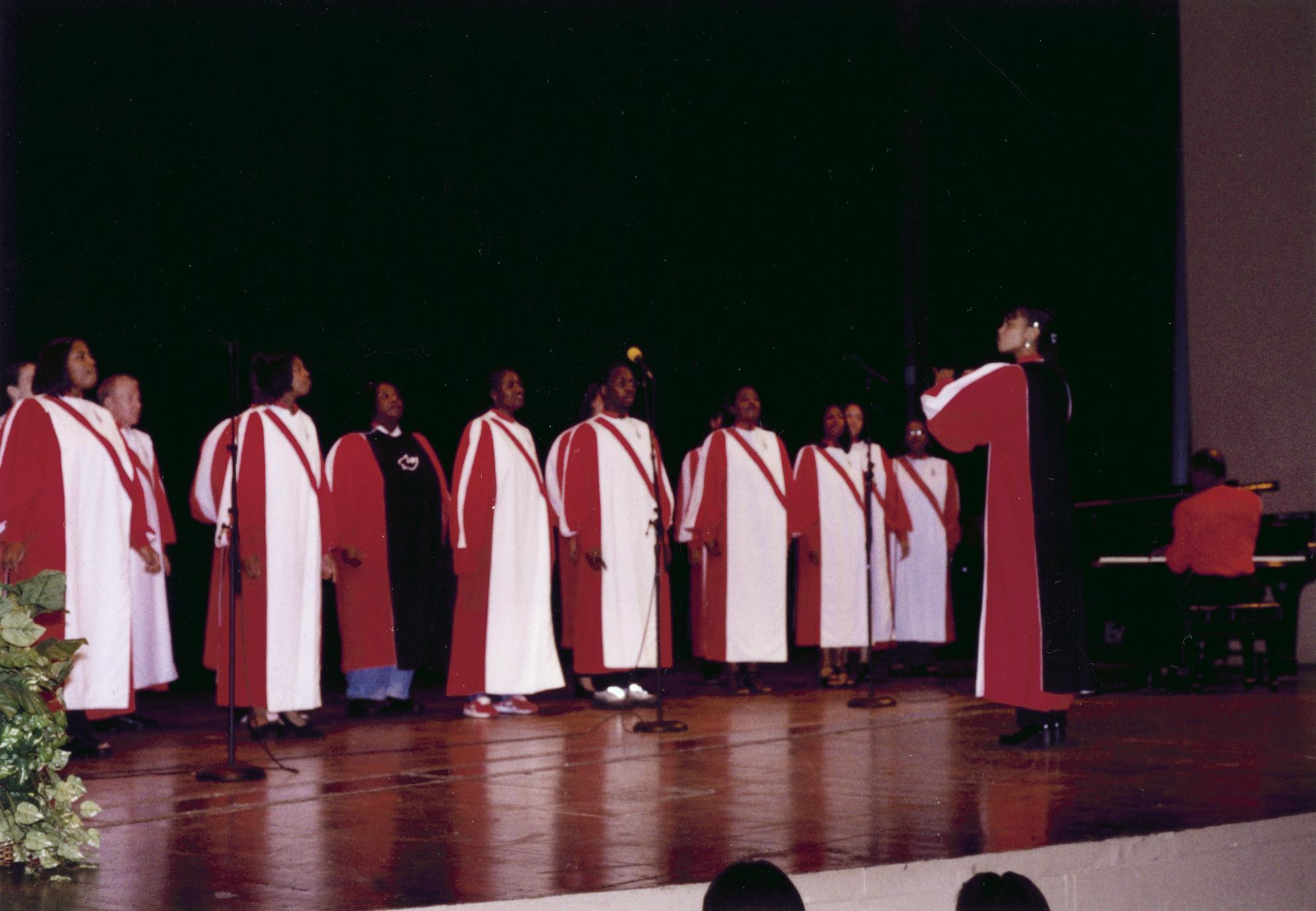 UW Gospel Choir at 1999 MCOR