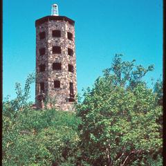 Stone tower -- observatory or lighthouse