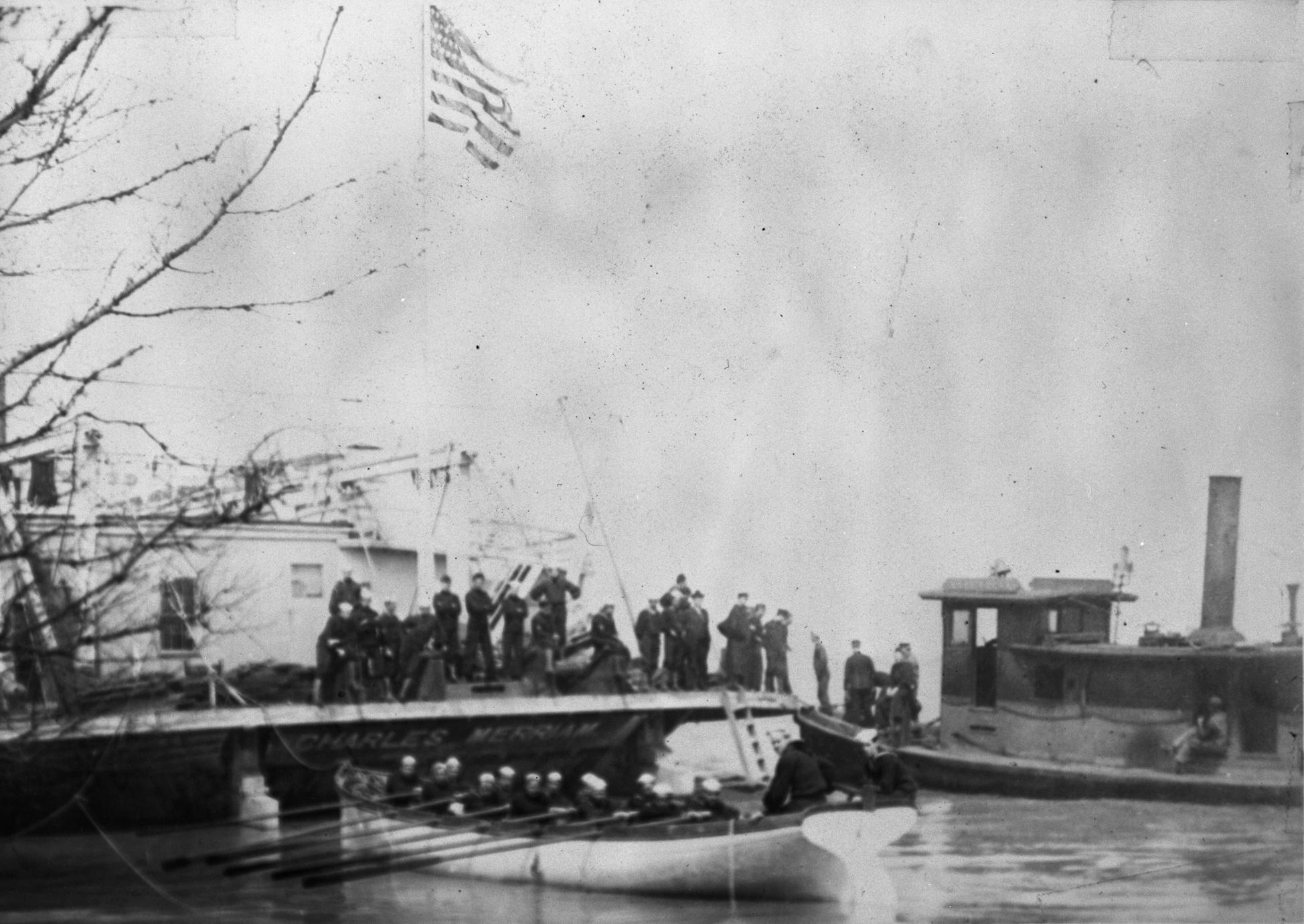 Charles Merriam (Railroad Transfer Ferry, 1883-1913)