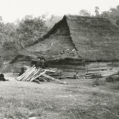 Yao (Iu Mien) dwelling in Houa Khong Province