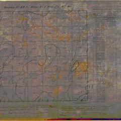 [Public Land Survey System map: Wisconsin Township 42 North, Range 03 West]
