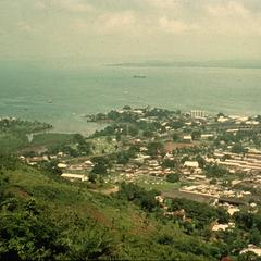 View of Freetown from Fourah Bay College