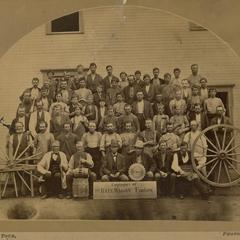 Bain Wagon Works factory employees