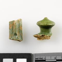 Handle and finial fragments