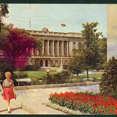 Library Mall, ca. 1950s