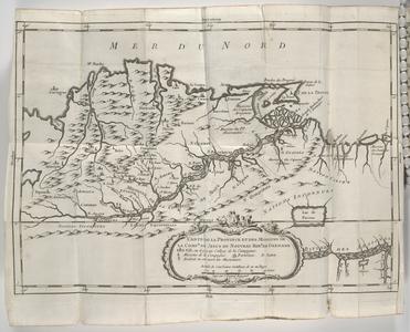 Carte de la province et des missions de la comp de jesus du nouveau roy de grenade