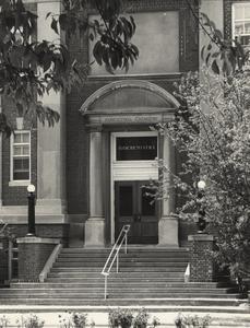 Biochemistry building entrance